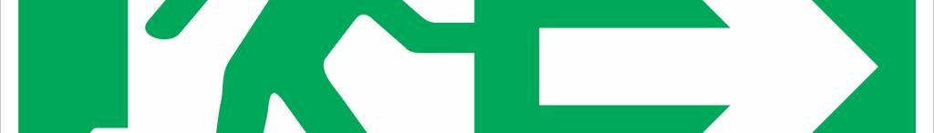 seta verde adiante